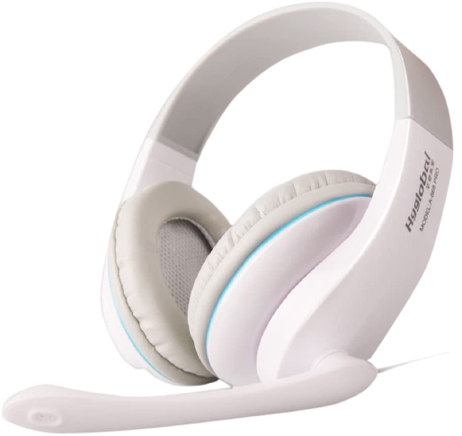 10 Noise Canceling On Ear Bass Stereo Pc Gaming Headset