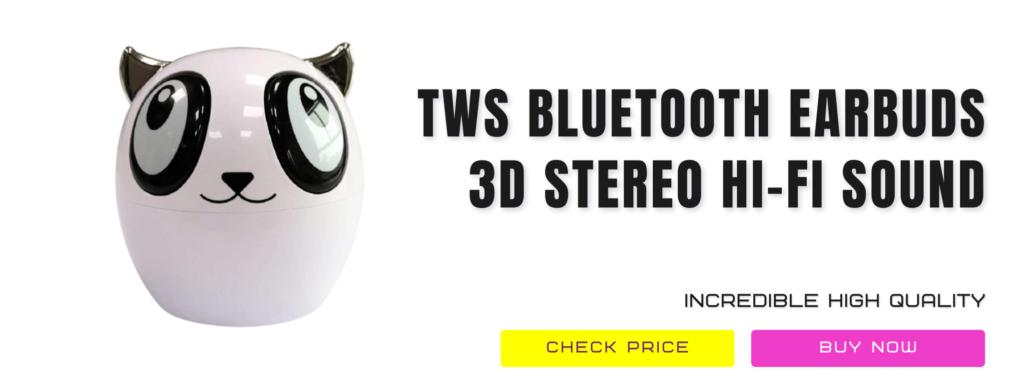 16 Tws Bluetooth Earbuds – 3d Stereo Hi Fi Sound Mini Bluetoothwireless Headphones For Kids