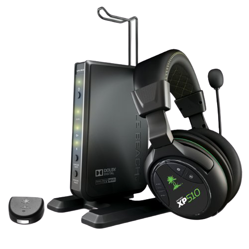 6 Turtle Beach Ear Force Xp510 Wireless Surround Sound Gaming Headset