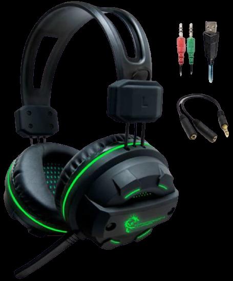 8 Dragonwar Revan Wired Professional Gaming Headset