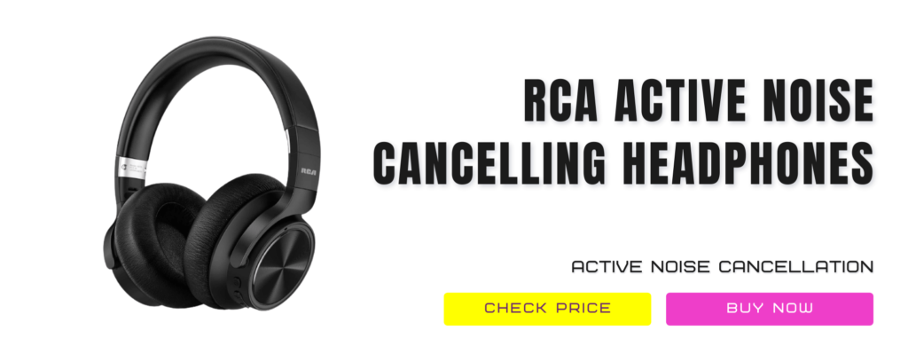 8 Rca [upgraded] Active Noise Cancelling Headphones Review Wireless Headphones For Kids