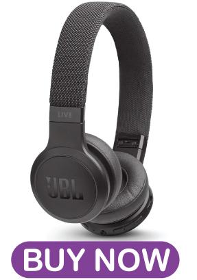 Jbl Live 400bt On Ear Wireless Headphones Black