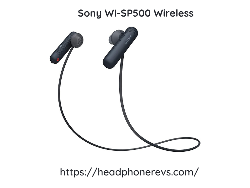 Sony Wi Sp500 Wireless Headphones