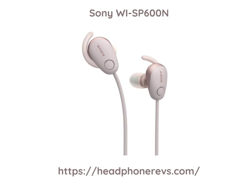 Sony Wi Sp600n Black Premium Headphone