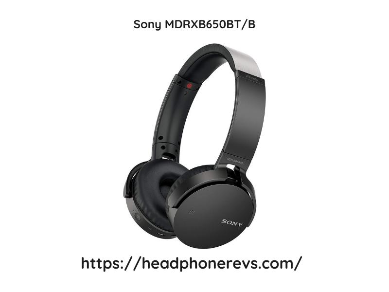 Sony Mdrxb650btb Headphone