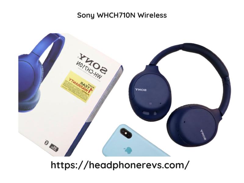 Sony Whch710n Wireless Headphones