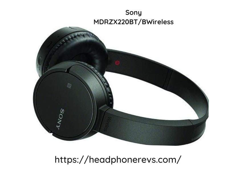 Sony Mdrzx220btb Wireless Headphones