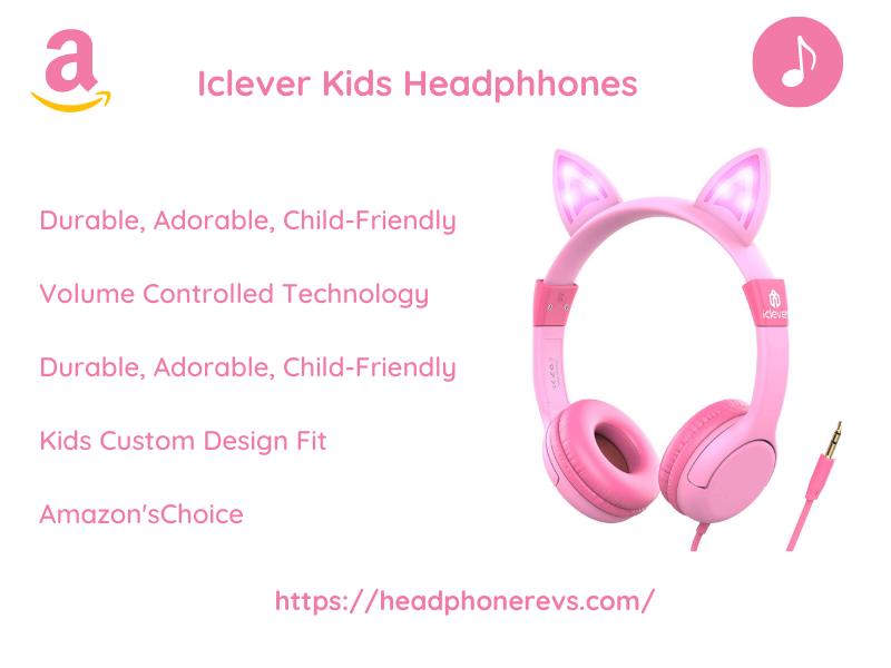 Iclever headphones for kids