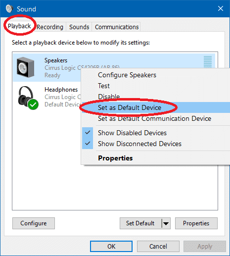 2 how to have audio play through speakers and headphones