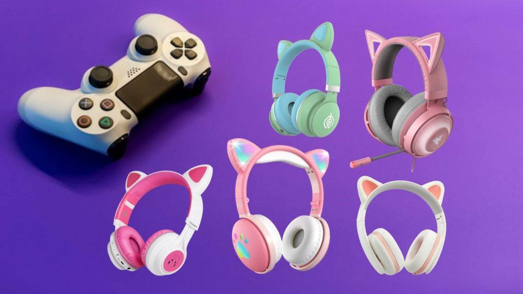 7 best cat ear gaming headphones gaming at its best