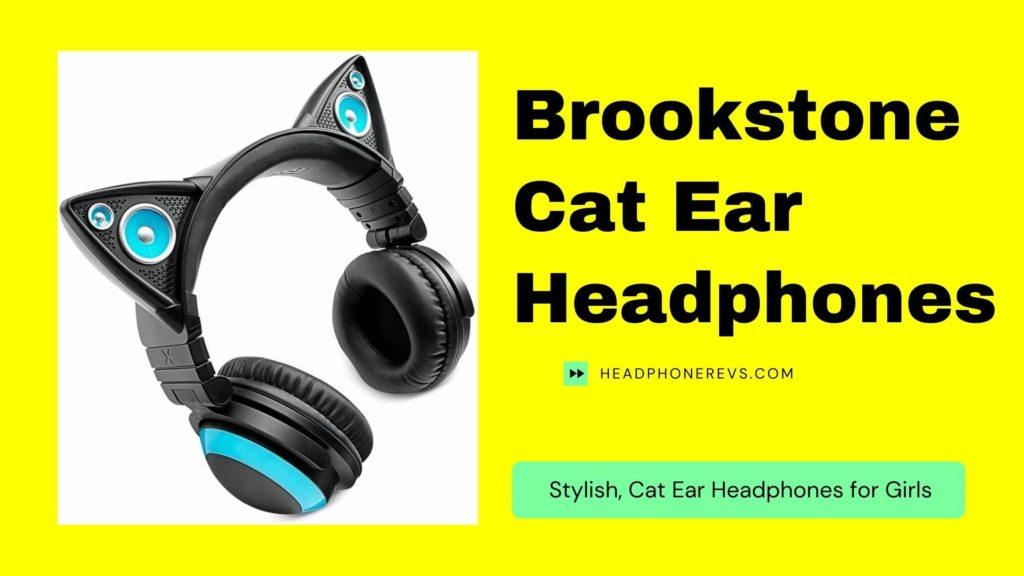 brookstone axent wear cat ear headphones review
