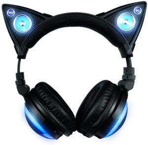 brookstone axent wear cat ear headphones review 2