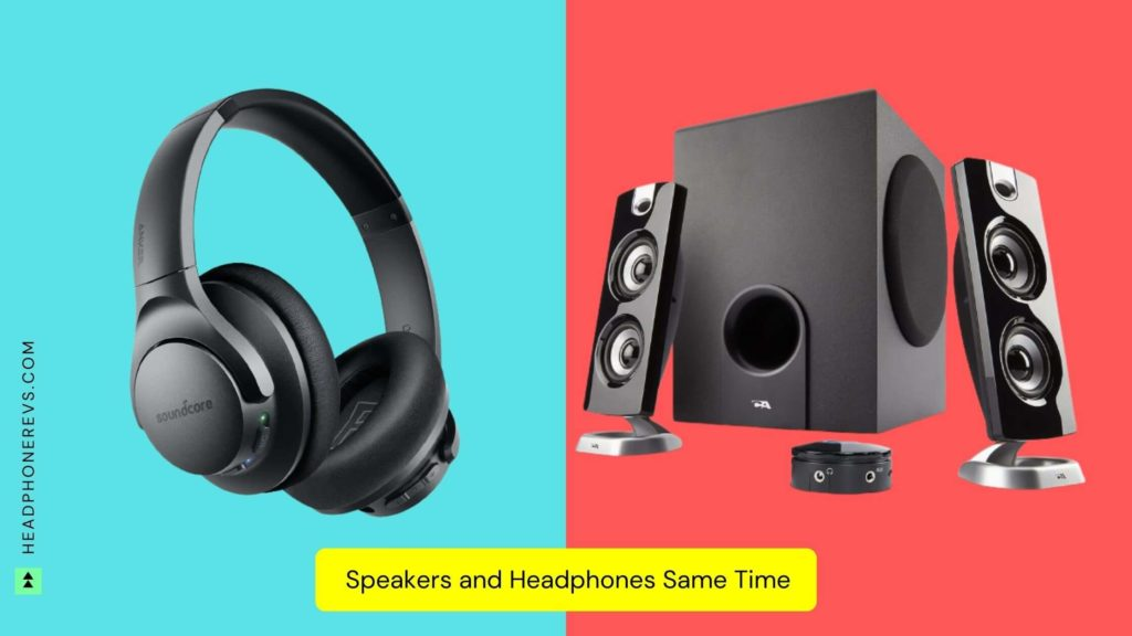 how to play sound through both speakers and headphones windows 10