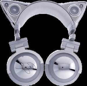ariana grandecat ear headphonesheadphoneswireless headphonesariana grande cat ear headphonesariana grande headphones 1