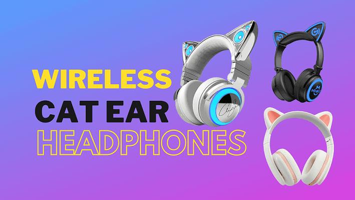 9 best wireless cat ear headphones 2021