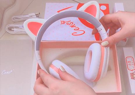 censi music cat ears headphones review 1