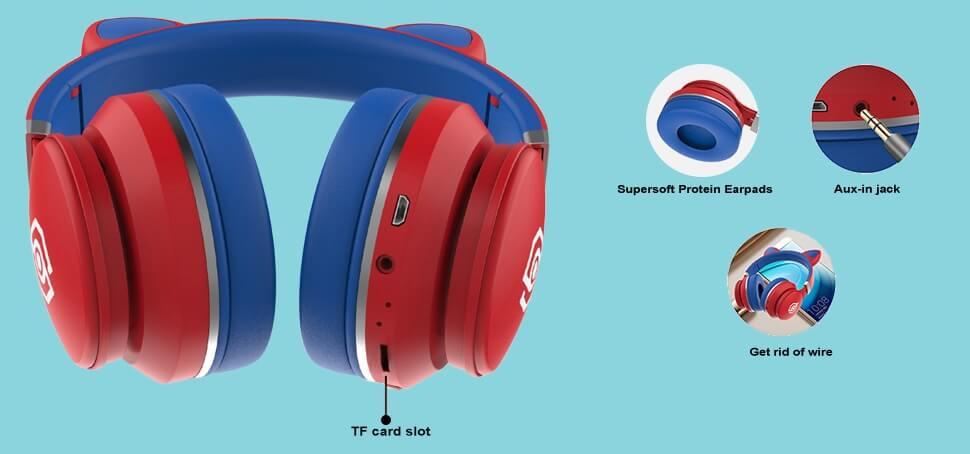 akz cat ear headphones review