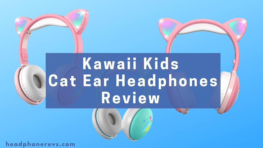aresrora kawaii cat ear headphones honest review and buying guide