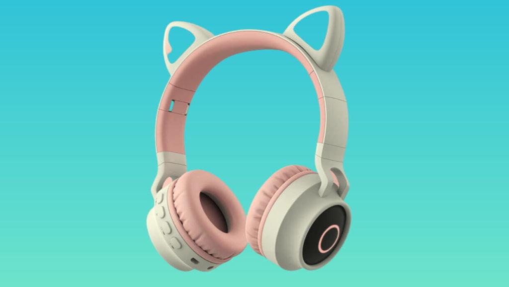 damikan best cat ear bluetooth over ear headphones review