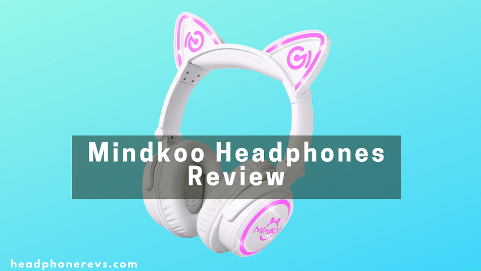 mindkoo wireless bluetooth cat ear headphones review