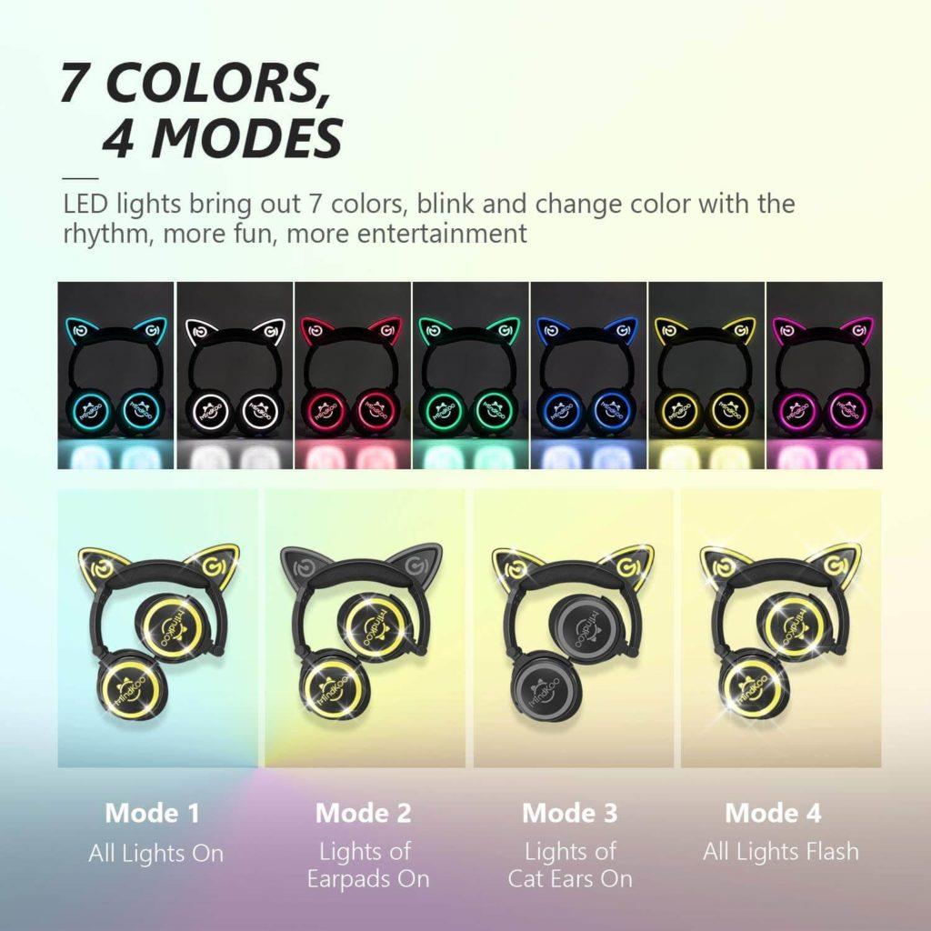mindkoo multicolor headphones
