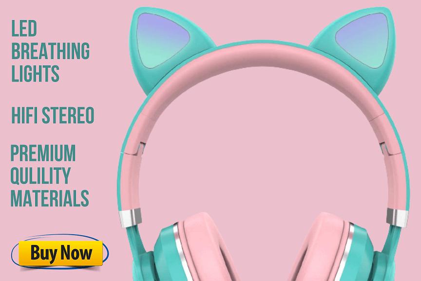 akz cat ear headphones product info