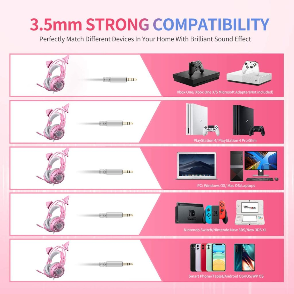 3.5mm cable connection compatibility