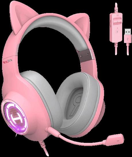 edifier hecate g2 ii pink cat ear gaming headphone review (1)