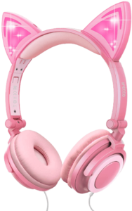 ifecco kids headphones for girls foldable wired kid headset review