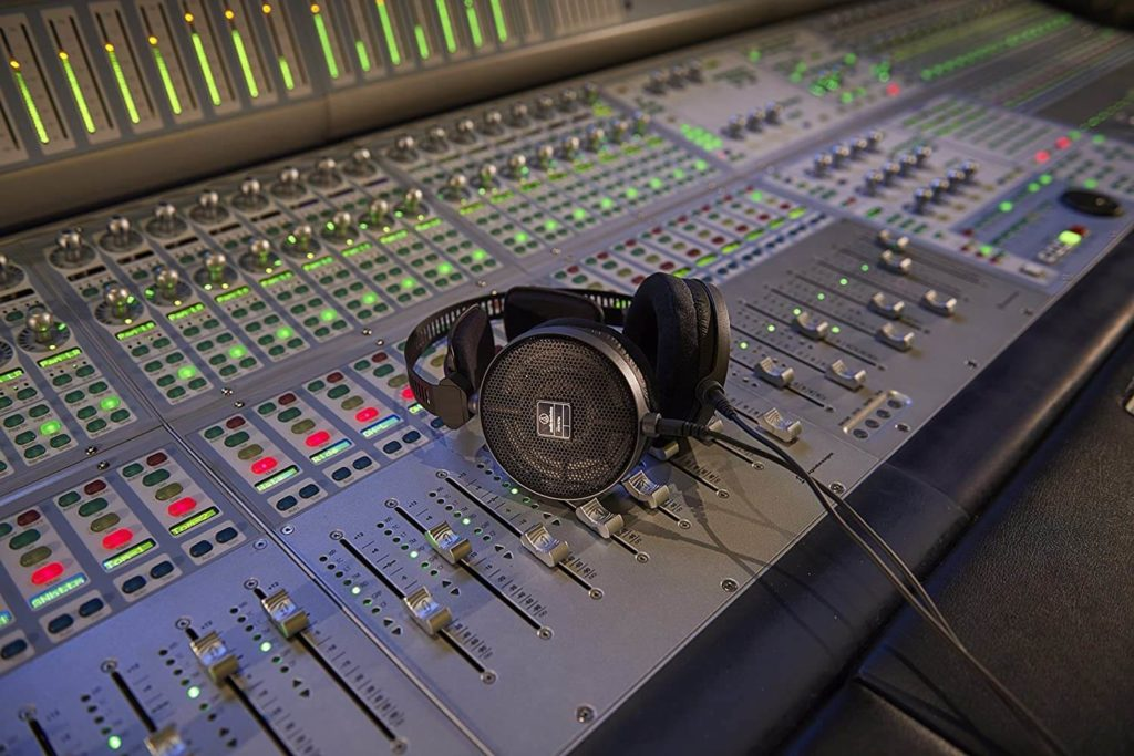 audiotechnica open ear headphones for mixing and recording